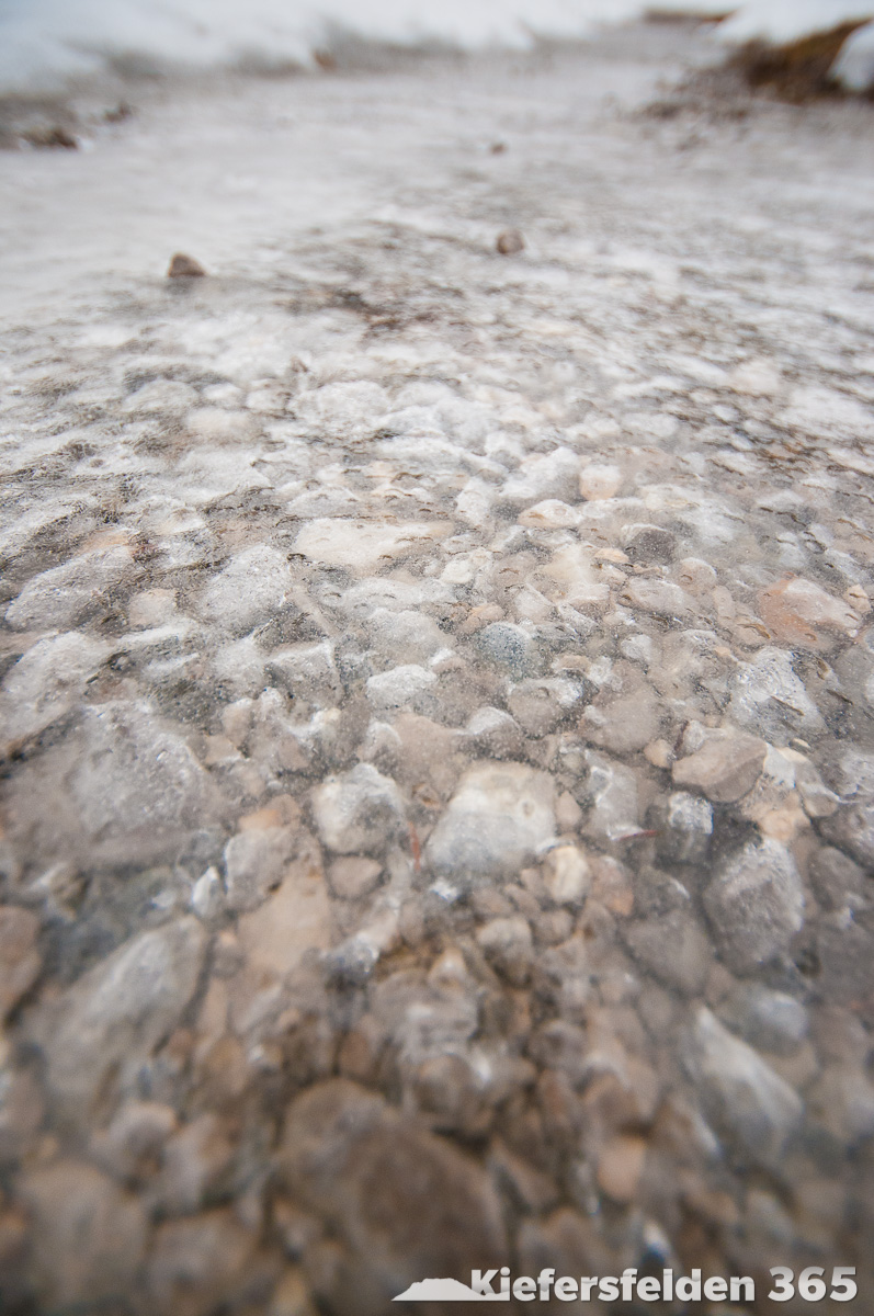 18.02.2015 - Überfrorener Weg in der oberen Gießenbachklamm