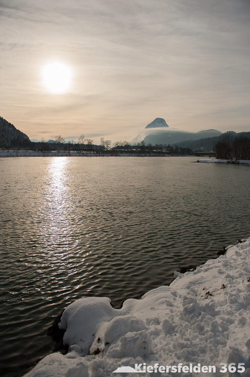 20.02.2015 - Mündung von Kieferbach und Inn