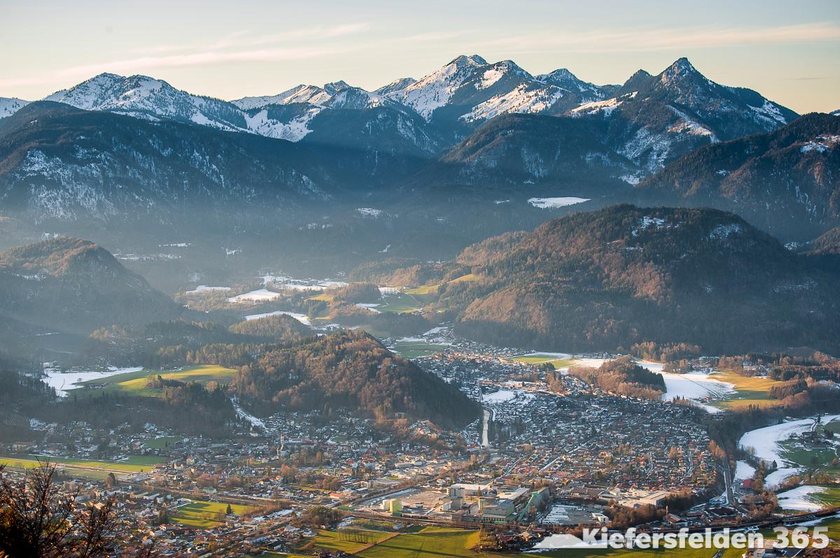 08.03.2015 - Kiefersfelden von der Ritzau Alm am Zahmen Kaiser