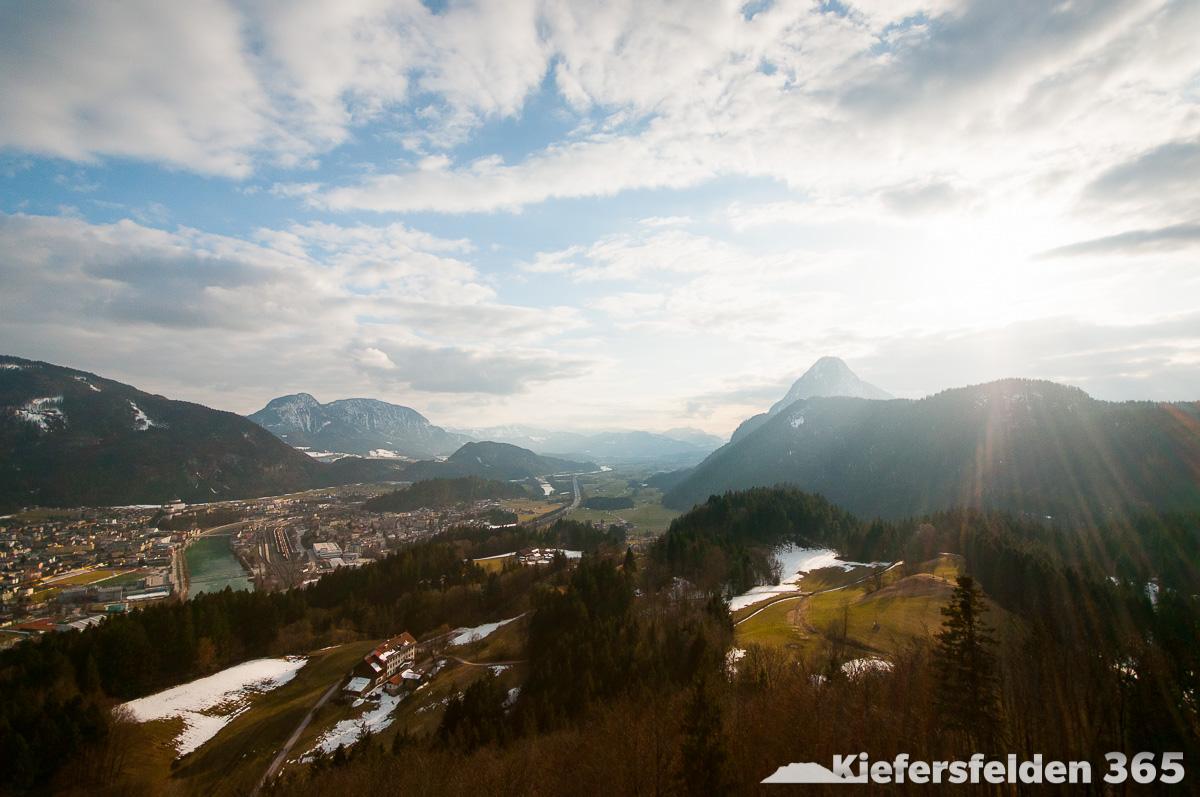 12.03.2015 - Blick ins Inntal Richtung Innsbruck