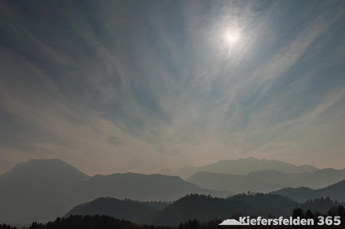 20.03.2015 - Sonnenfinsternis über dem Kaisergebirge