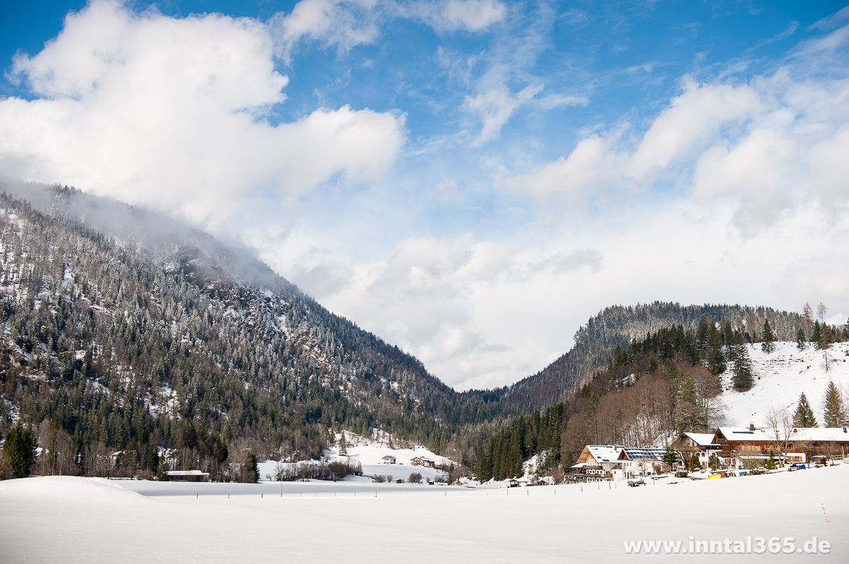02.04.2015 - Neuschnee im April bei Mühlau/Dörfl