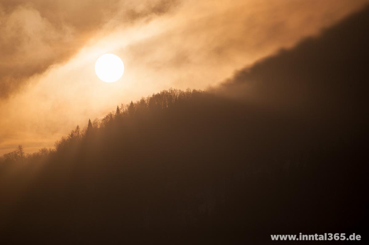 08.04.2015 - Sonnenuntergang mit Wolken