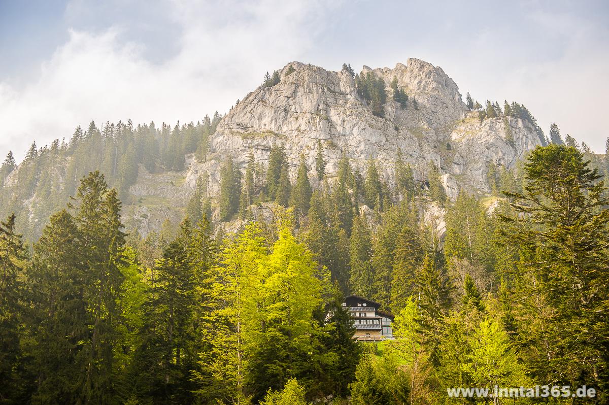 16.05.2015 - Brünnsteinhaus und Gipfel