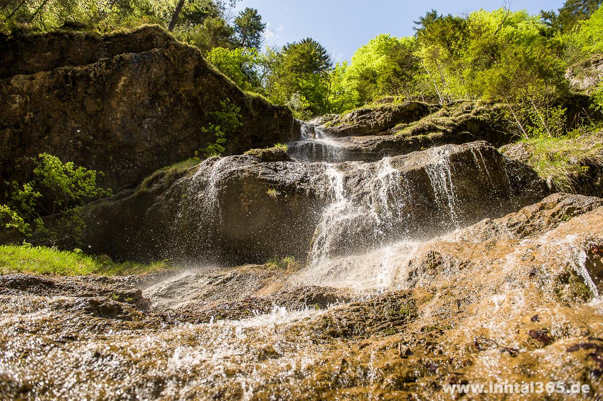 02.06.2015 - Wasserfall in der Tiefenbachklamm