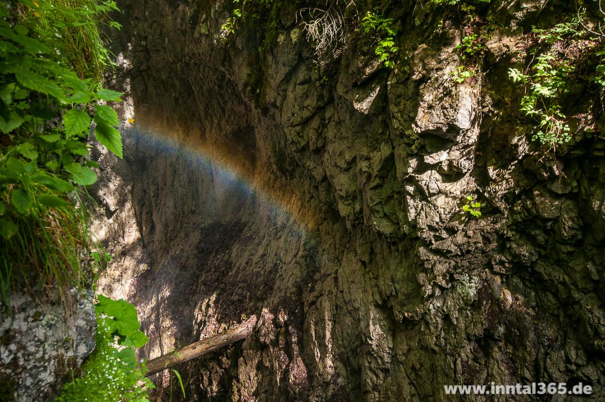 04.07.2015 - Regenbogen in der Wolfsklamm