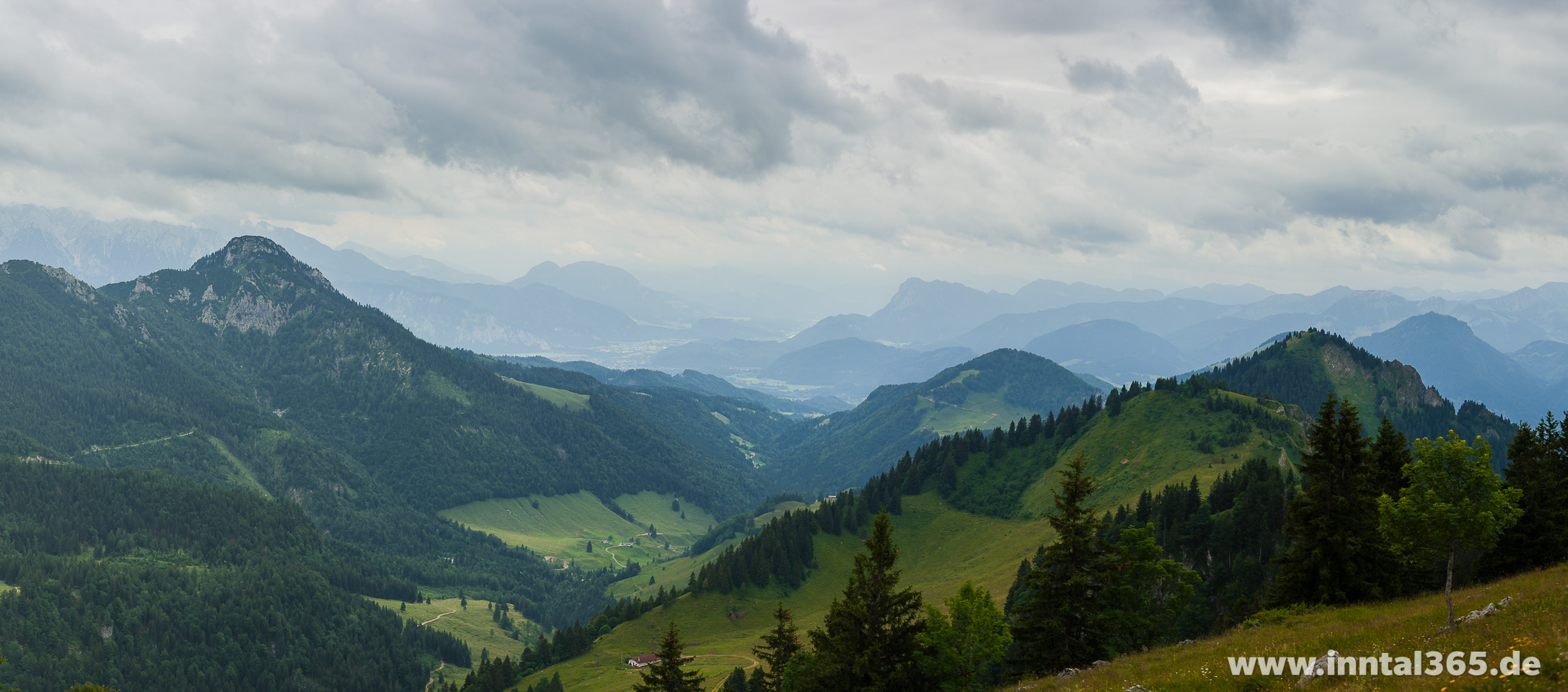 25.07.2015 - Hochrieshütte Blick Richtung Süd/West