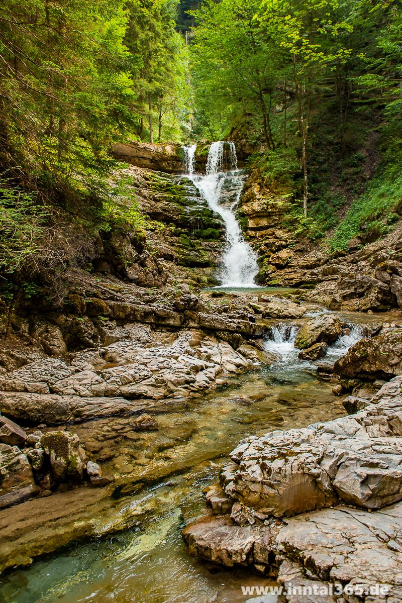 28.07.2015 - Wasserfall am oberen Jenbach
