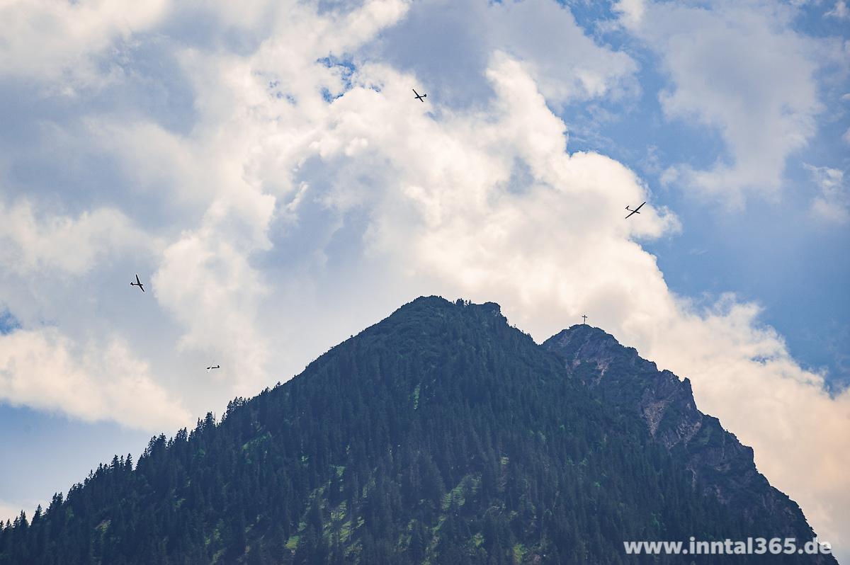 09.08.2015 - Flugbetrieb am Zunterkopf