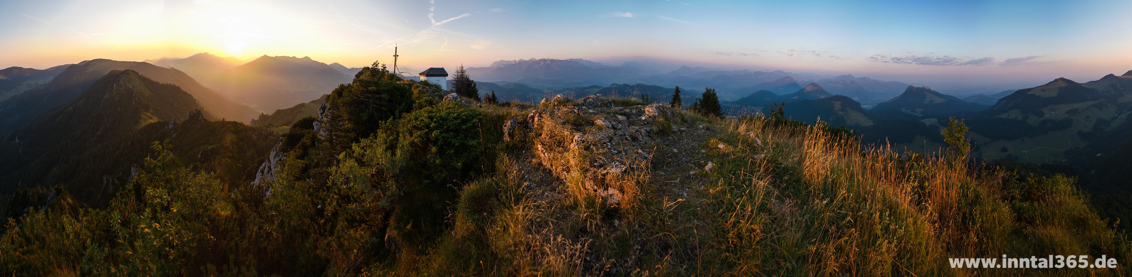 17.08.2015 - Spitzstein-Gipfelpanorama