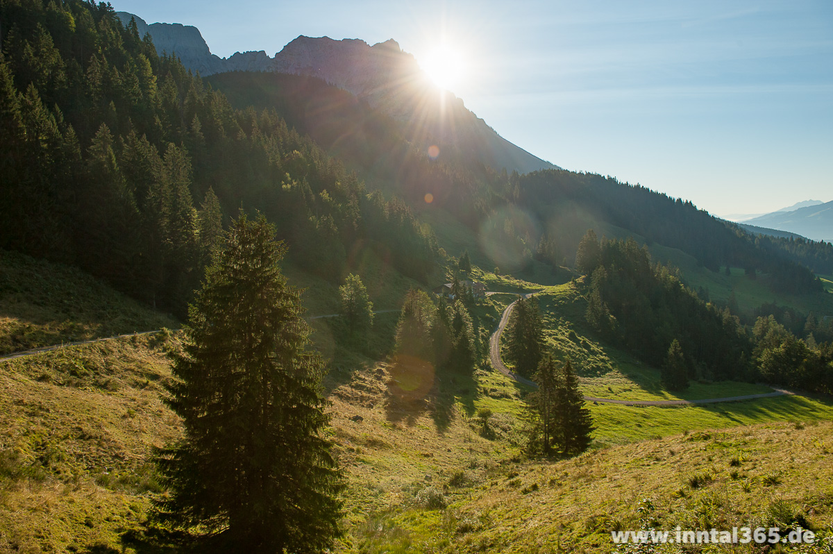 29.08.2015 - Morgensonne am Wilden Kaiser