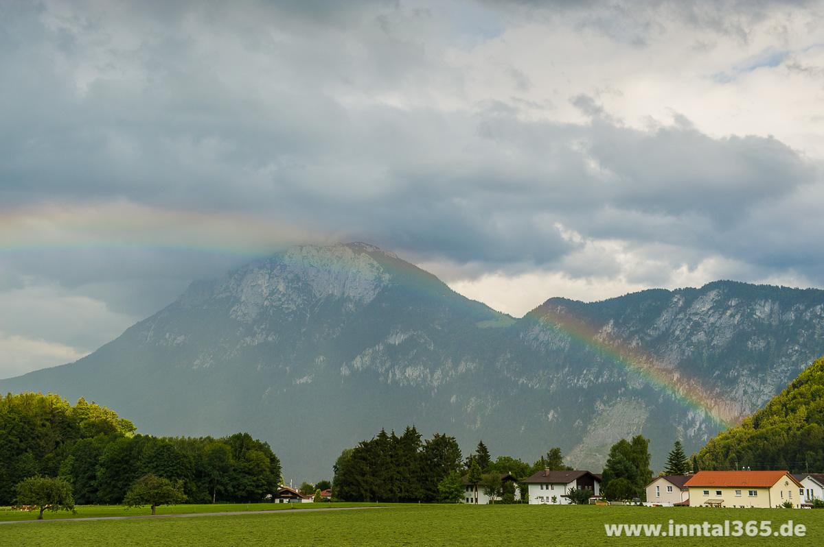 15.09.2015 - Regenbogen nach dem Gewitter