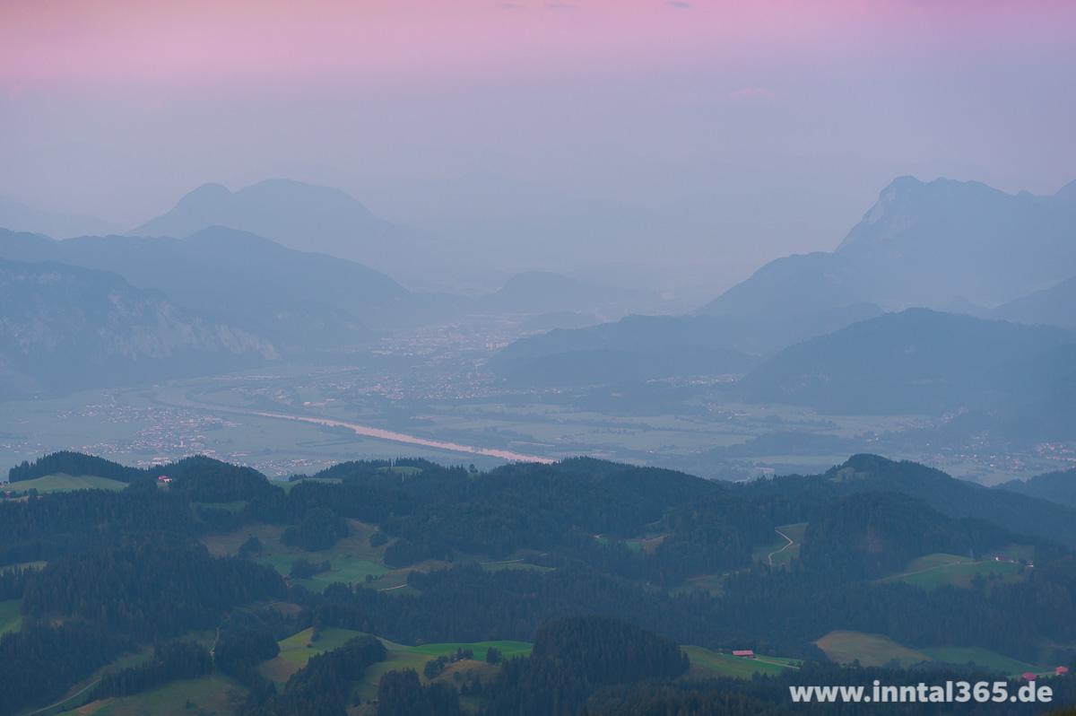 22.08.2015 - Morgenstimmung über Kiefersfelden und Kufstein
