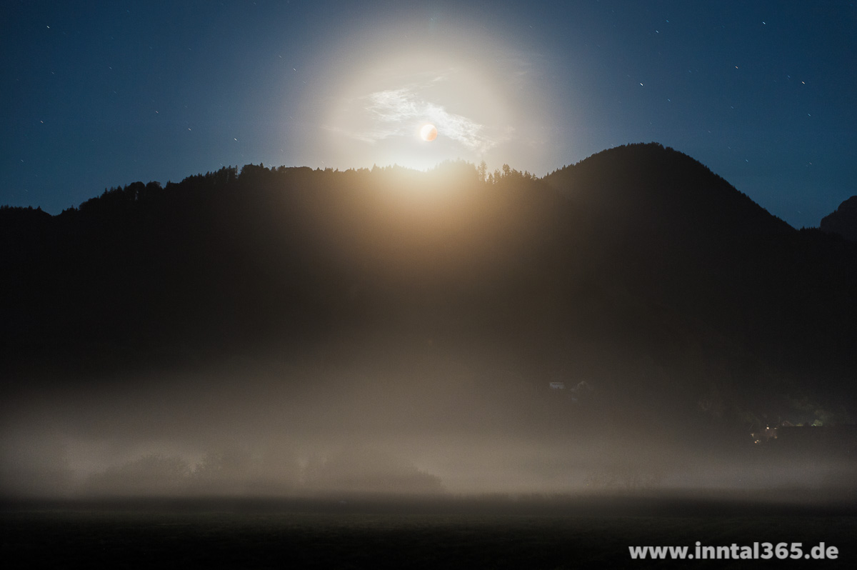 29.09.2015 - Mondfinsternis bei Oberaudorf.