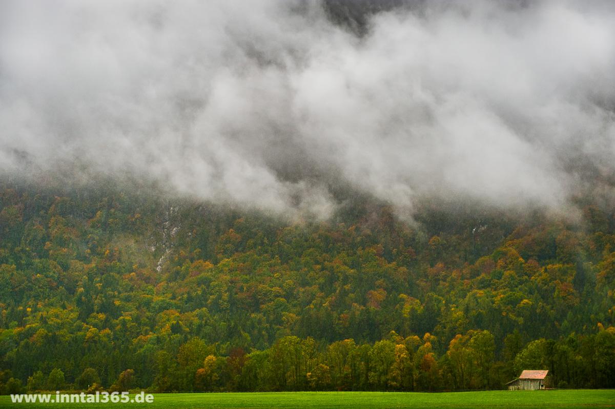 07.10.2015 - Regenwetter bei Oberaudorf