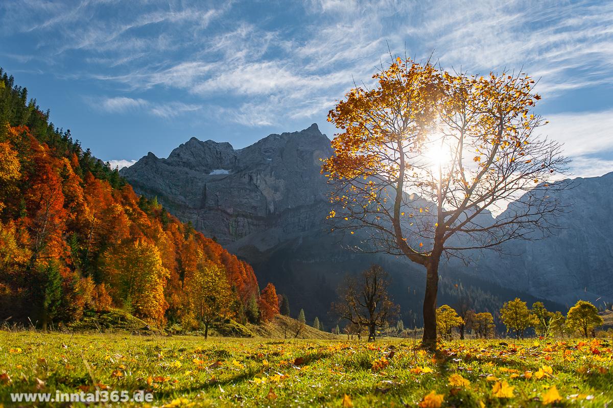 12.10.2015 - Großer Ahornboden im Karwendel