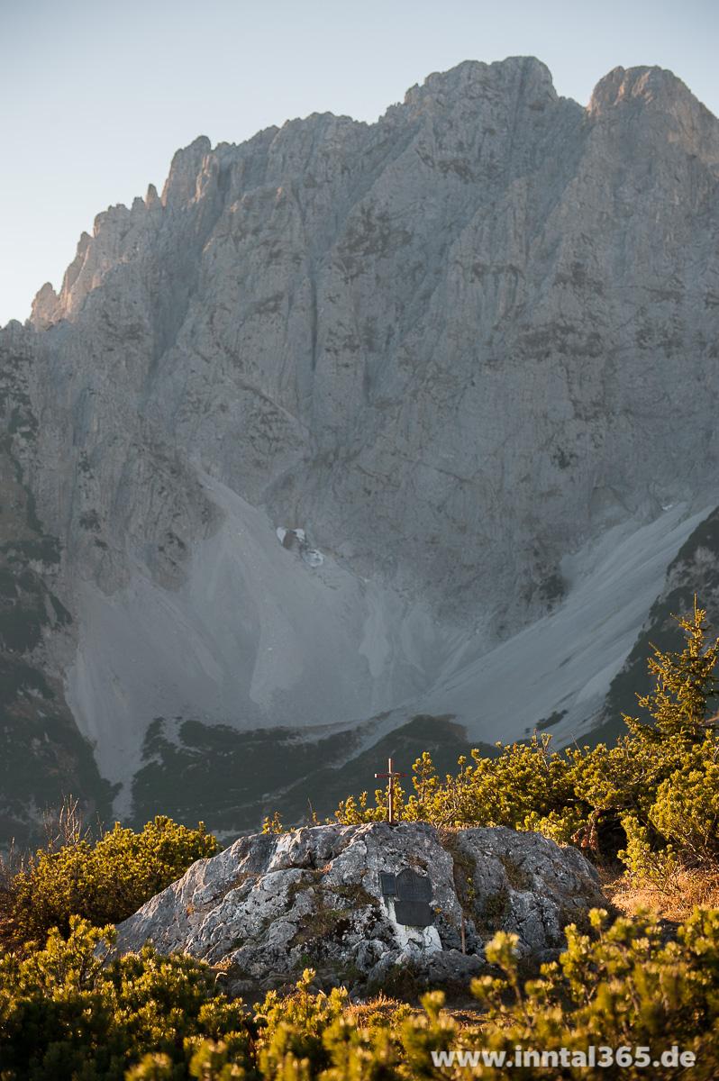 18.11.2015 - Das Bergsteigergrab am Baumgarten Köpfl