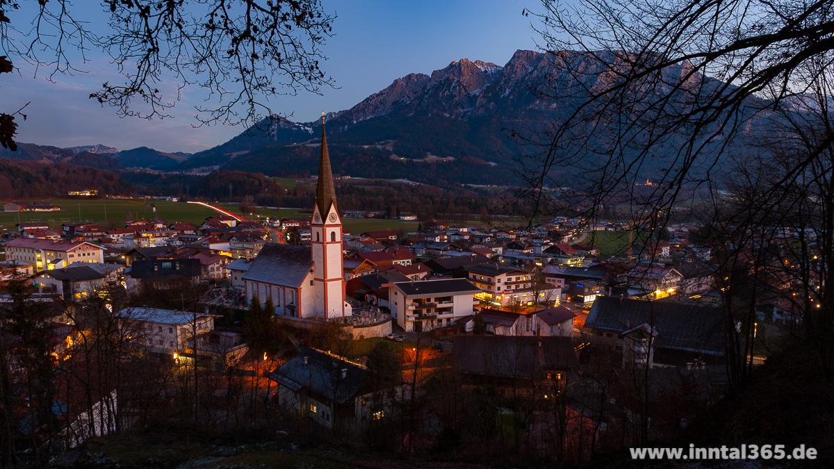 14.12.2015 - Niederndorf vom Höhenberg aus gesehen