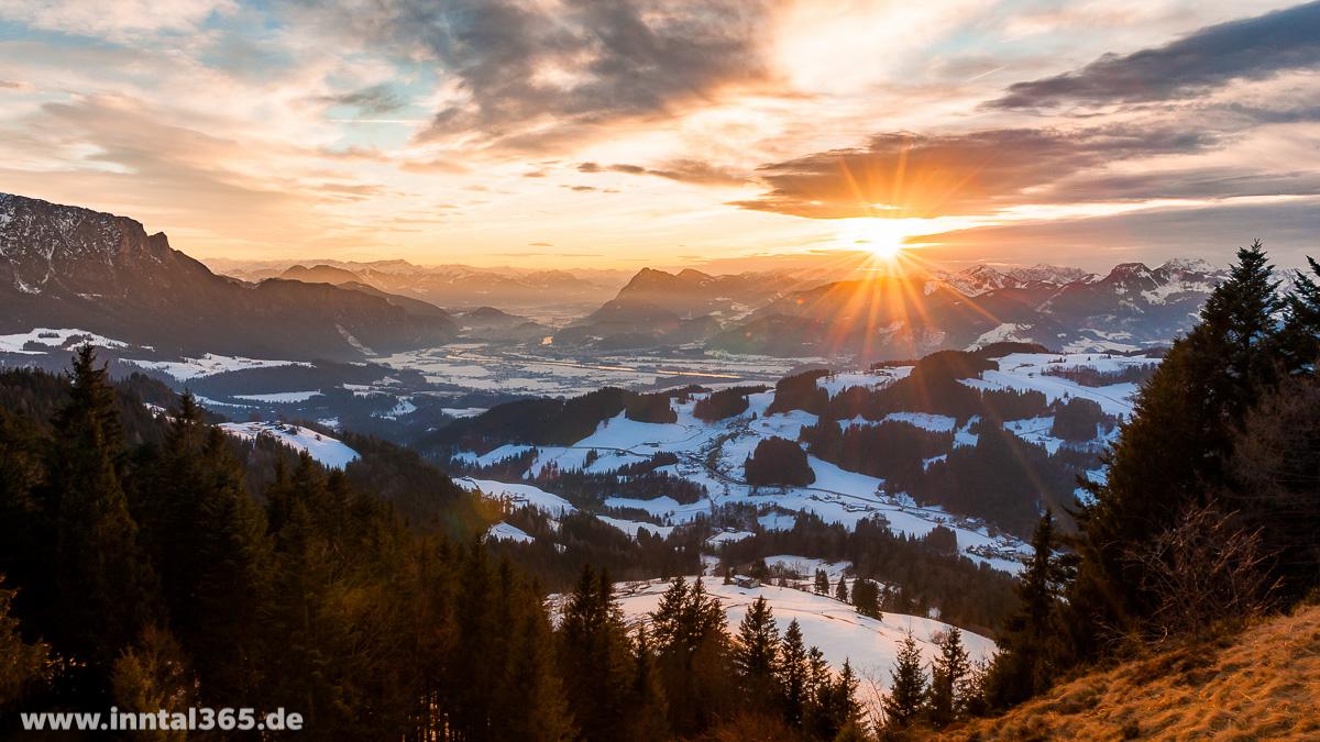 30.01.2016 - Heute Abend an der Karspitze